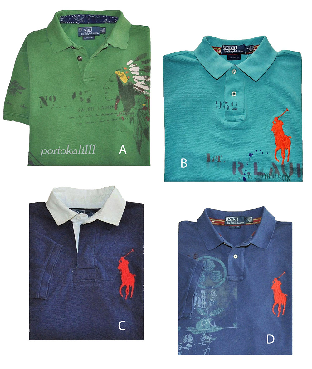 Nwt Lauren Shirts Polo About Sl Details Print Ralph Indian Big Pony 100Cotton n0OPwk8